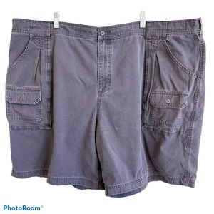 Cabela Men's Gray Shorts Cargo Style Size 50